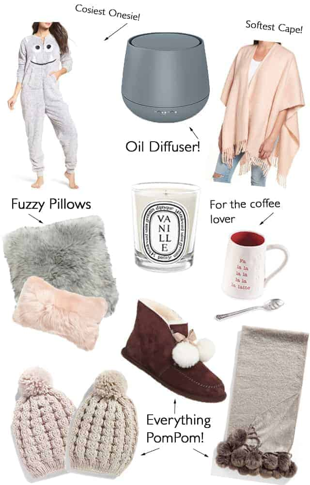 Gift Guide: Cozy Items for the Homebody!