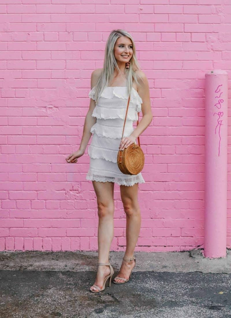 Polka Dot Ruffle Dress!
