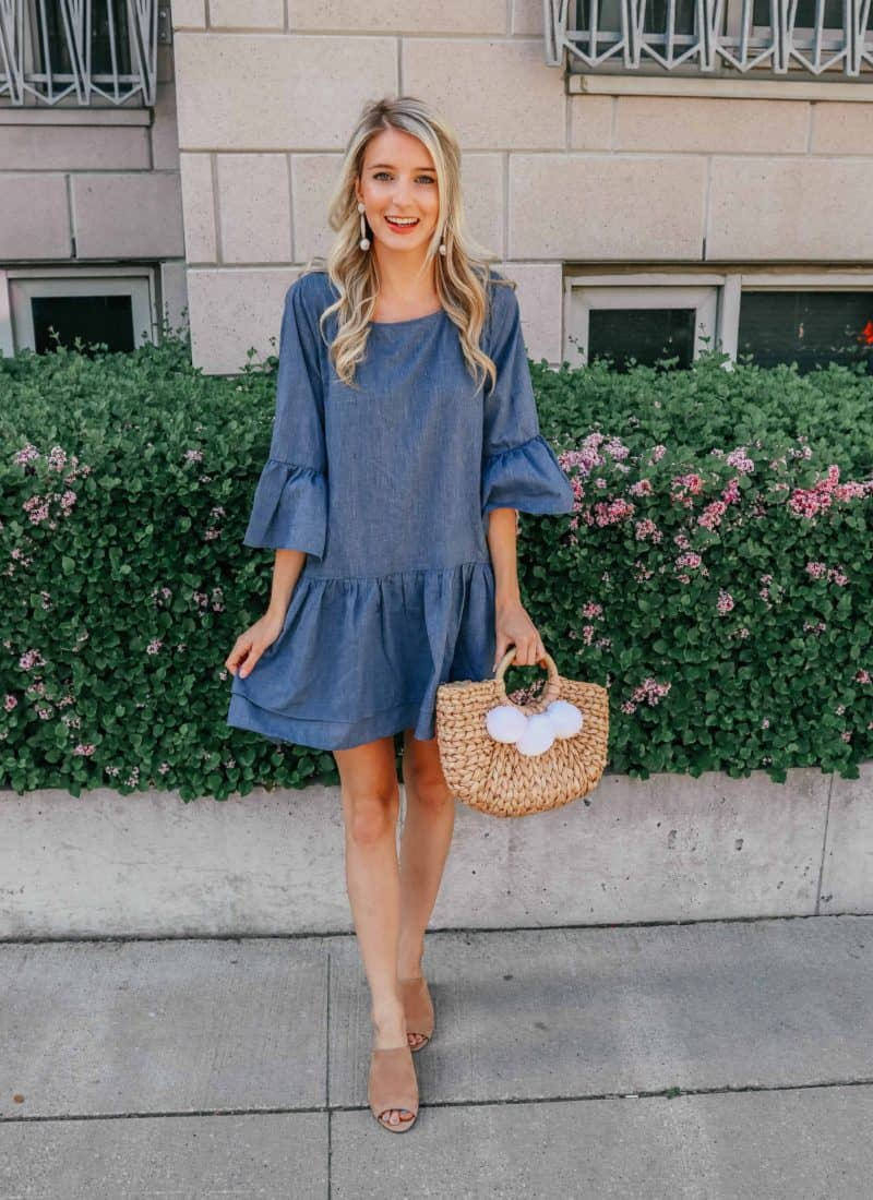 How to Style: A Chambray Dress!