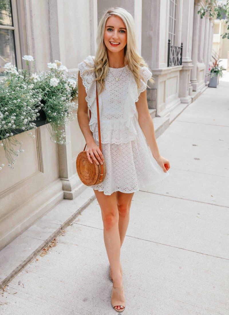 White Summer Dresses Under $75!