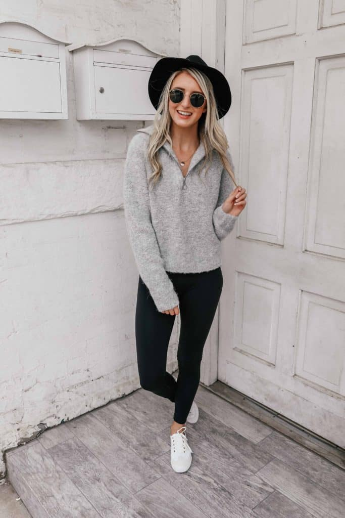 fall must haves, Fall must haves 2018, cozy sweater, cozy sweater outfits, cozy sweaters autumn, fedora hat outfit, fedora hat, fedora women, fall outfit, fall outfits 2018, fall outfit women, Prada & Pearls, Fashion blogger