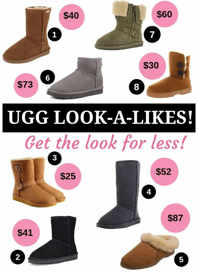 UGG Look-a-Likes!