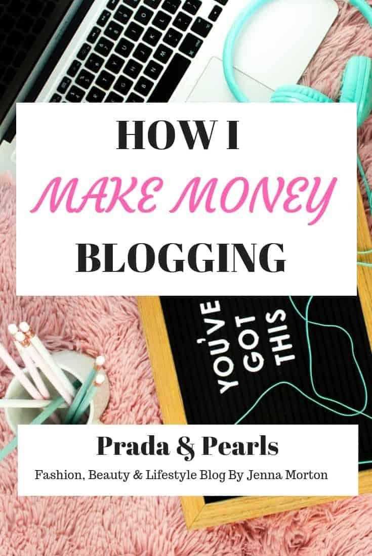 How I Make Money Blogging!