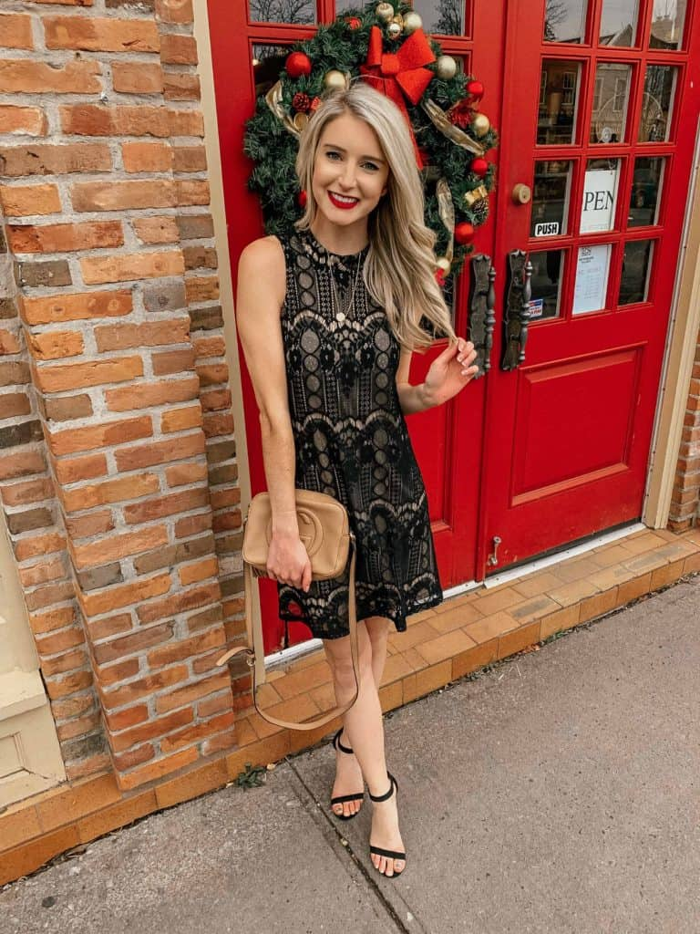winter outfit, winter fashion, winter outfits, winter outfits cold, winter outfits casual, winter outfits canada, lace dress, black lace dress, lace party outfit, , black lace dress outfit, party dresses classy, party dresses short, prada & pearls, fashion blog