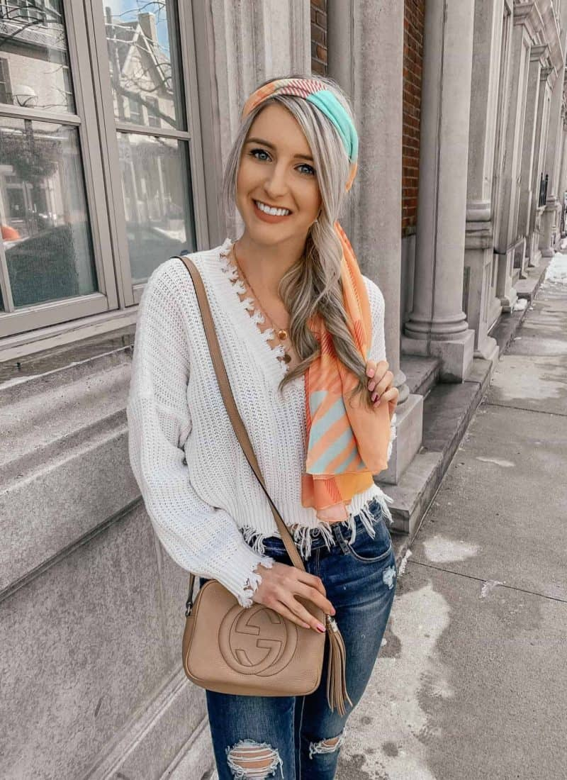 4 Ways To Wear A Scarf This Spring!