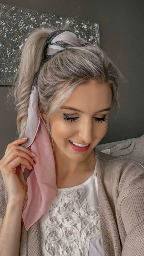 scarf, scarf tying, scarf hairstyles, hair scarf, hair scarf styles, hair wrap scarf, hair scarf tie, hair scarf tutorial, hair scarf outfit, hairstyle, spring hair, spring hair style, scarves, fashion blogger