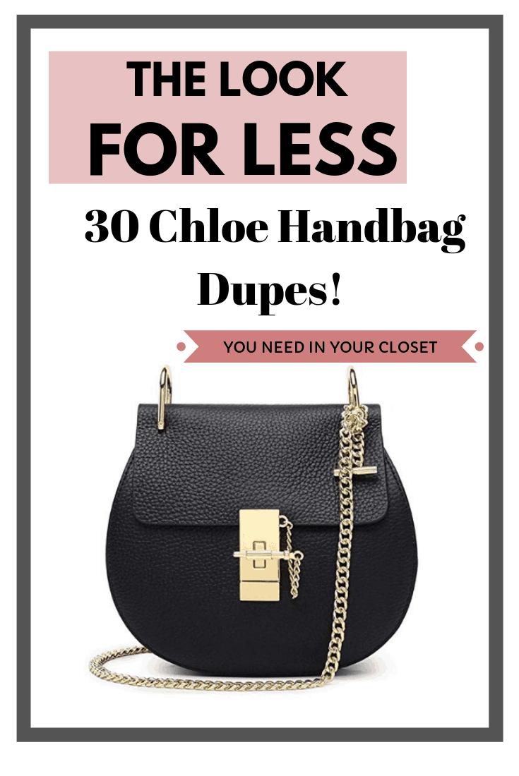 The 30 Best Handbags Inspired by Chloe!