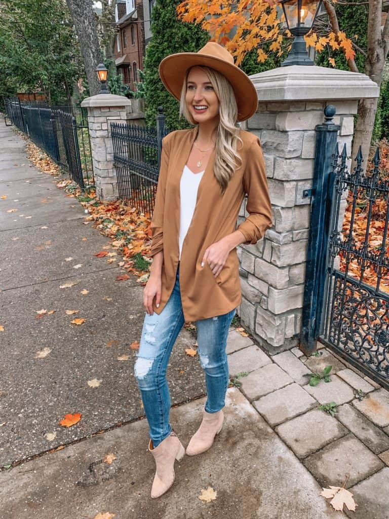 vici, vici collection, vici dolls, workwear, fall blazer, work outfits women, work attire, work wear casual, work wear office, blazer outfits, blazer outfits casual, blazer, blazer outfits for work, prada and pearls, fashion blogger, #blazeroutfits #workoutfits #workwear