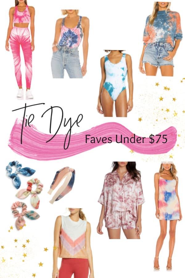 50+ Tie Dye looks under $75
