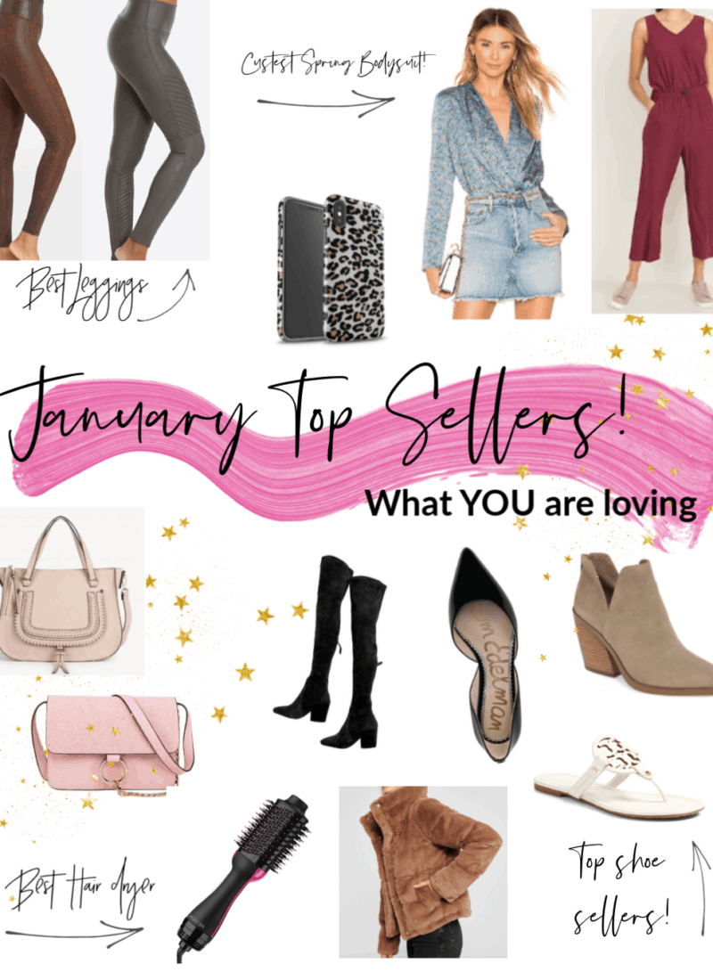 January Top Sellers!