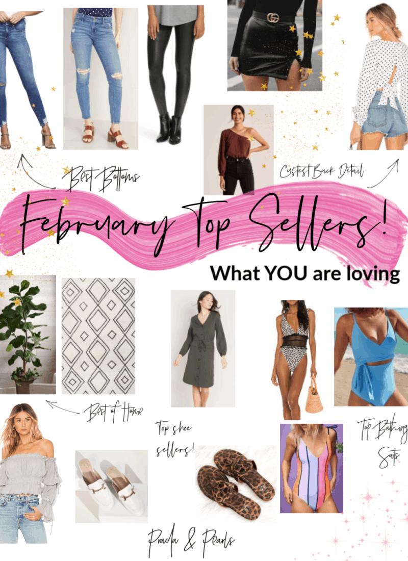 February Top Sellers!