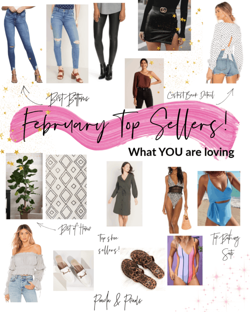 February favourites, boho rug, faux plant, polka dot crop top, bathing suit, women bathing suit, designer dupes, gucci loafer dupes, tory burch dupes