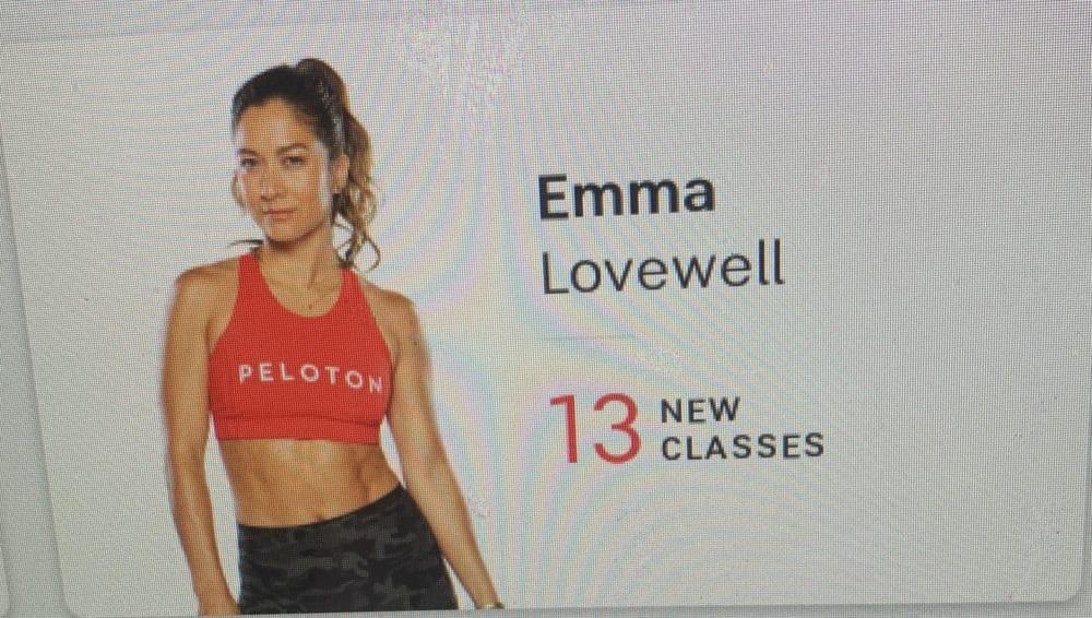 honest peloton review, Emma lovewell