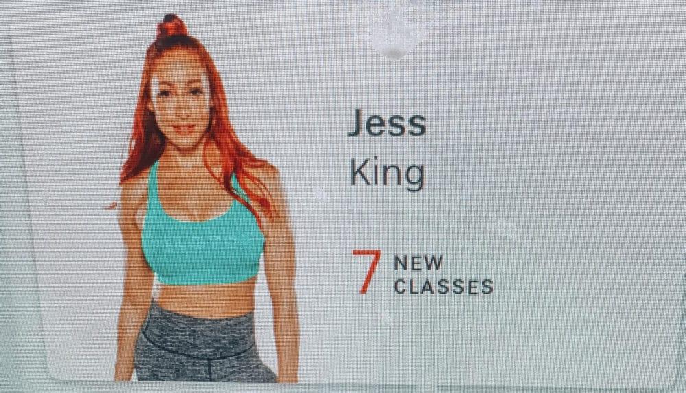 honest peloton review, jess king