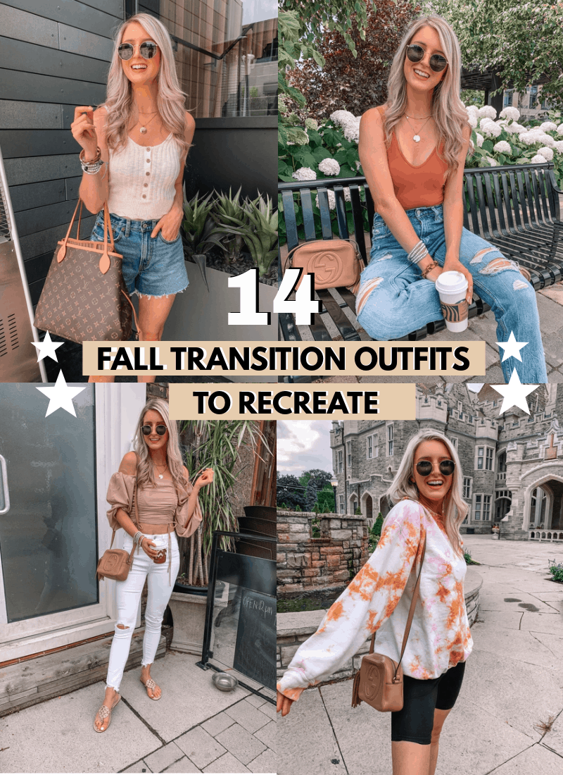 14 FALL TRANSITION OUTFITS YOU NEED IN YOUR CLOSET!