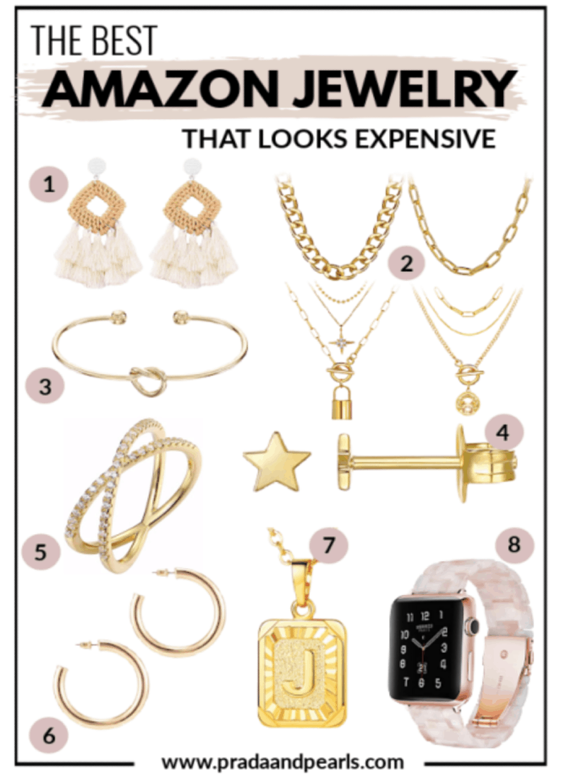 CHEAP AMAZON JEWELRY THAT LOOKS EXPENSIVE!