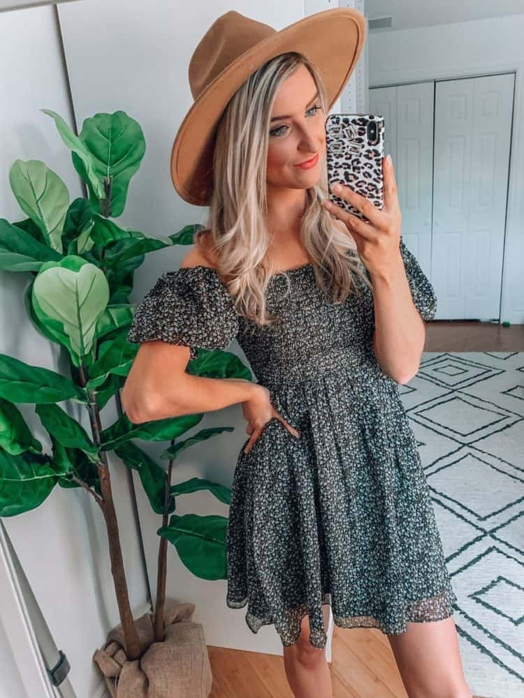 fall transition outfits, fall outfit, fall transition outfits casual, fall outfits women, casual fall outfits, casual outfits, outfit roundup, Prada and pearls, floral dress