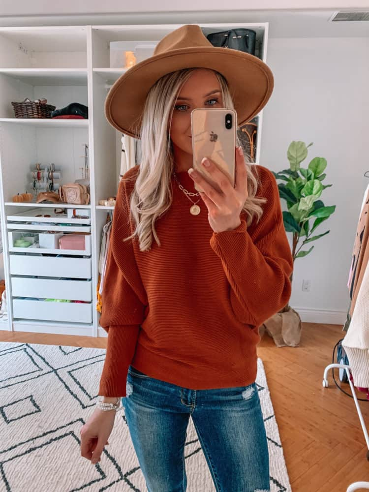 fall sweater finds, amazon must haves, amazon fall sweater haul, rust fall sweater, amazon must haves 2020, best amazon finds, amazon fashion, amazon fall fashion, best amazon sweaters, amazon sweater haul, amazon outfits