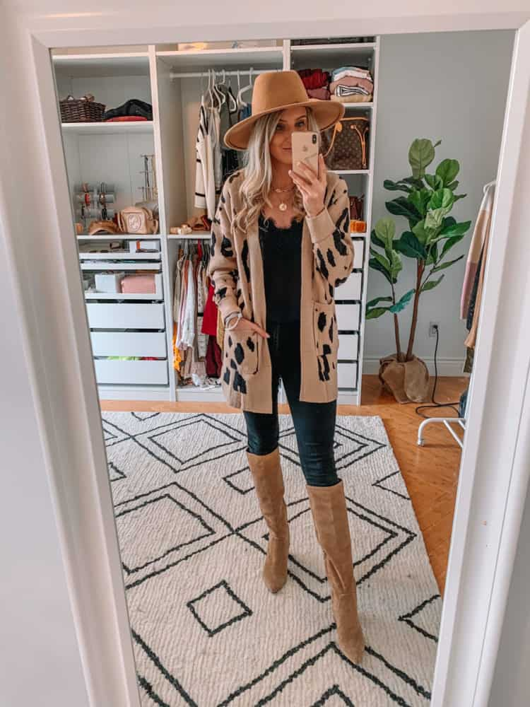 fall sweater finds, amazon must haves, amazon fall sweater haul, amazon must haves 2020, best amazon finds, amazon fashion, amazon fall fashion, best amazon sweaters, amazon sweater haul, amazon outfits, leopard cardigan, Prada and pearls
