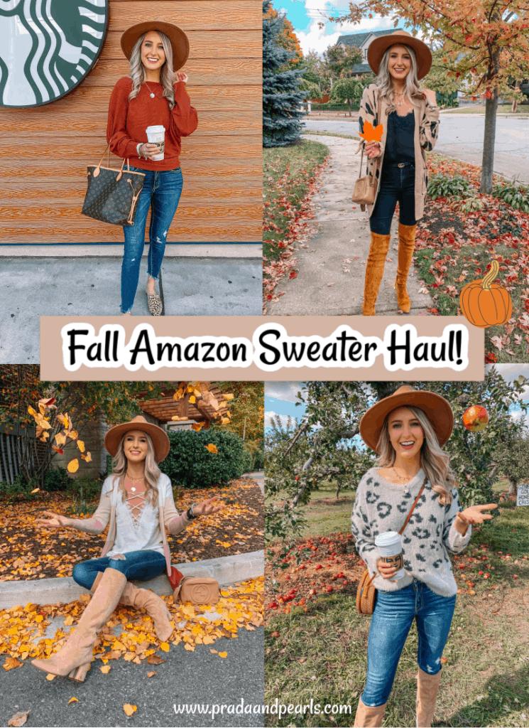 amazon must haves, amazon haul, amazon fall haul, amazon try on, amazon must haves 2020, amazon finds, amazon fall finds, amazon try on haul, amazon sweaters, Prada and pearls
