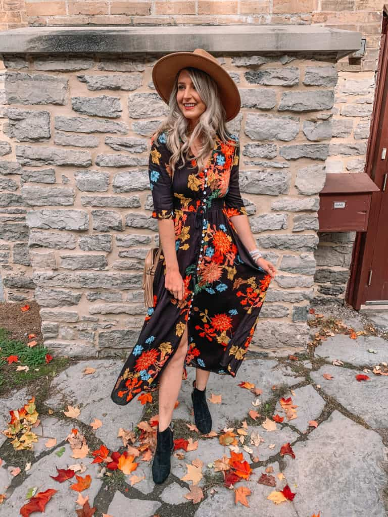 amazon fall dress, amazon must haves, amazon finds, amazon must haves 2020, amazon fall finds, amazon dress finds, amazon fall must haves, fall maxi dress, floral maxi dress, amazon maxi dress, Prada and pearls