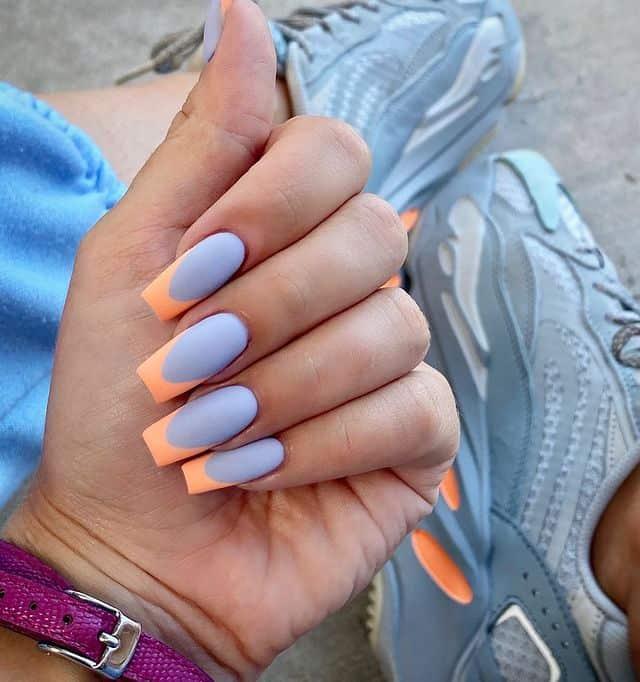 matte nails, matte nails coffin, matte nails acrylic, matte nails design, matte nails blue, matte nails orange, matte nails art