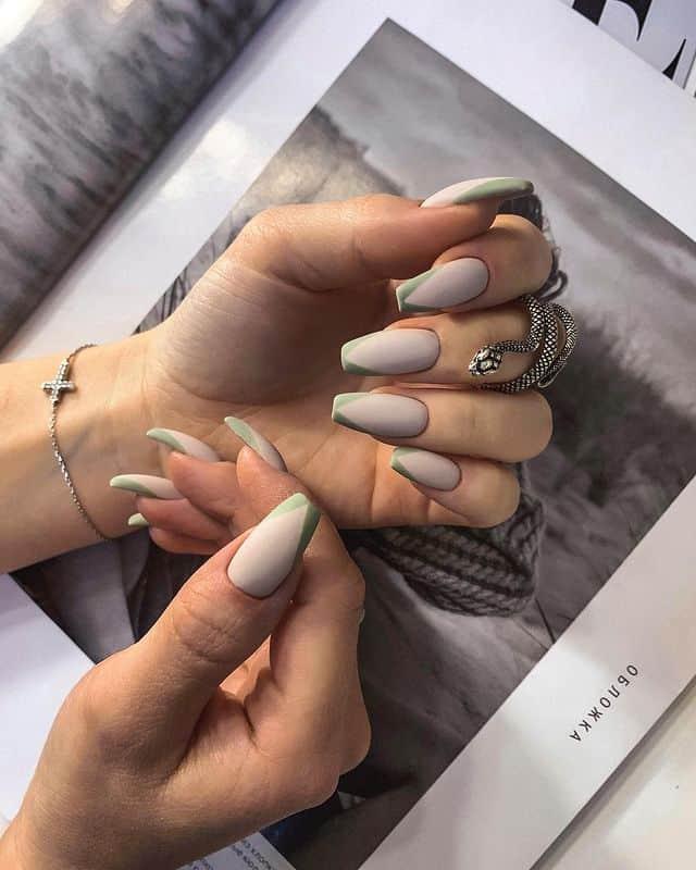 matte nails, matte nails coffin, matte nails acrylic, matte nails design, matte nails neutral, matte nails green, matte nails art