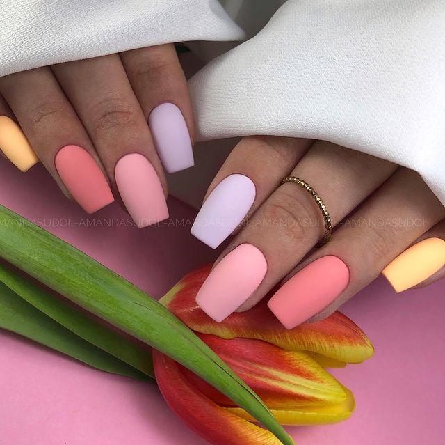 matte nails, matte nails coffin, matte nails acrylic, matte nails design, matte nails pink, matte nails ombre, matte nails art