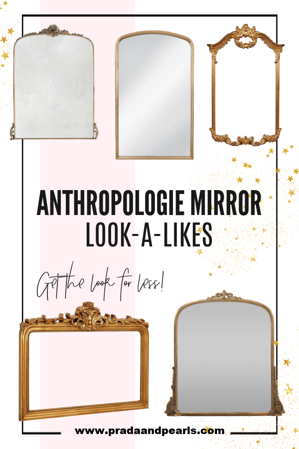 9+ Affordable Anthropologie Mirror look a likes!
