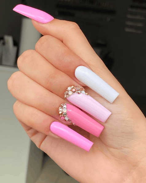 ombre nails, ombre nail ideas, ombre nails pink, ombre nails short, ombre nails coffin, ombre nail art, cute ombre nails, ombre nail color ideas, pink nail art, pink nails, pink nail ideas