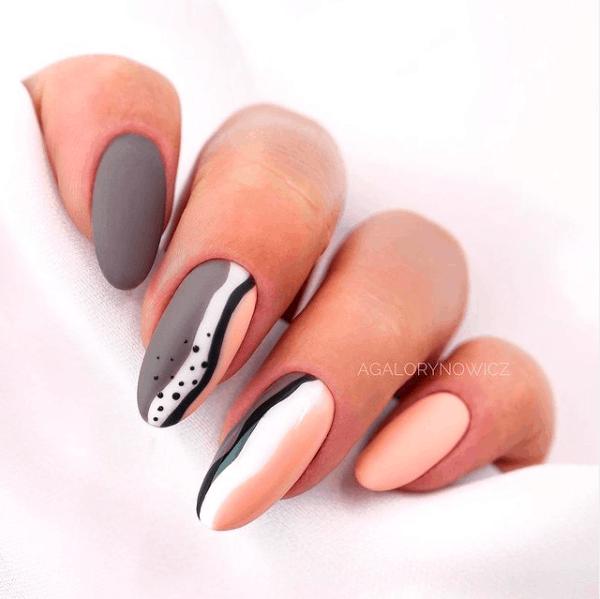 matte nails, matte nails coffin, matte nails acrylic, matte nails design, matte nails grey, matte nails abstract, matte nails art
