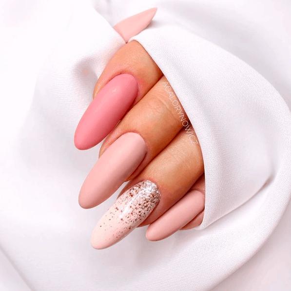 matte nails, matte nails coffin, matte nails acrylic, matte nails design, prada and pearls, spring nails, matte nails pink, matte nails ombre, matte nails art