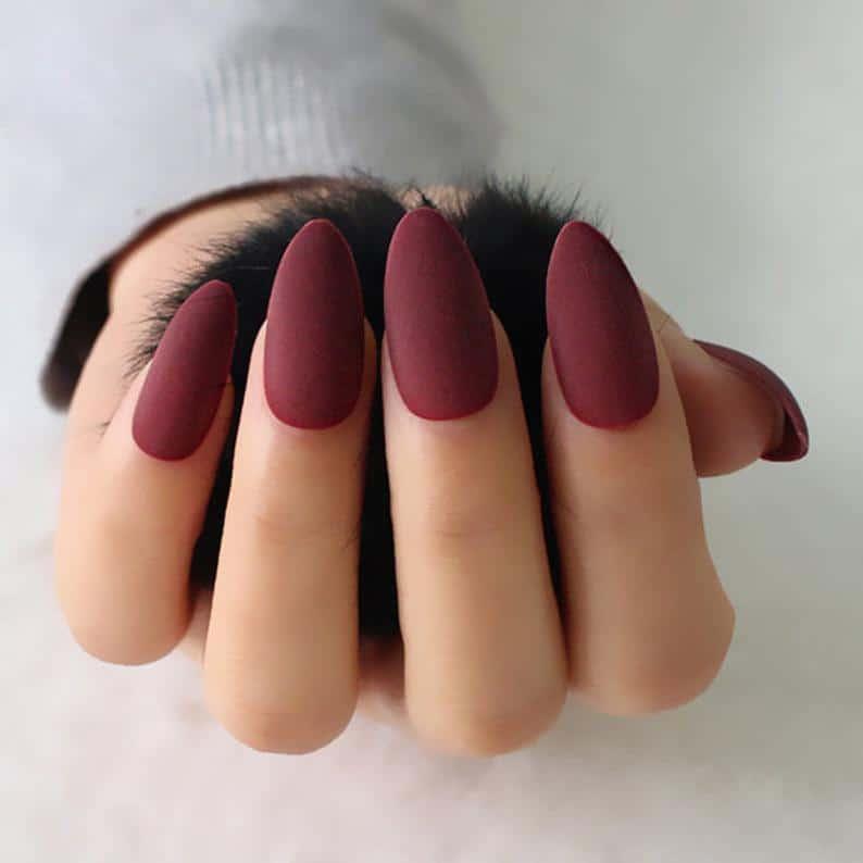 matte nails, matte nails coffin, matte nails acrylic, matte nails design, matte nails maroon, matte nails red, matte nails art