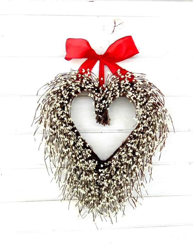 valentines day wreath, valentines day, valentines day decorations, valentines day wreath DIY, valentines day wreath mesh, valentines day wreath ideas, valentines day wreath diy front doors, valentines day decorations for home, wreaths for front door, red wreath, heart wreath, heart wreath DIY, white heart wreath