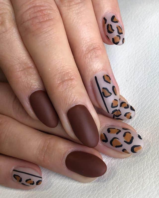 matte nails, matte nails coffin, matte nails acrylic, matte nails design, matte nails brown, matte nails leopard, matte nails art