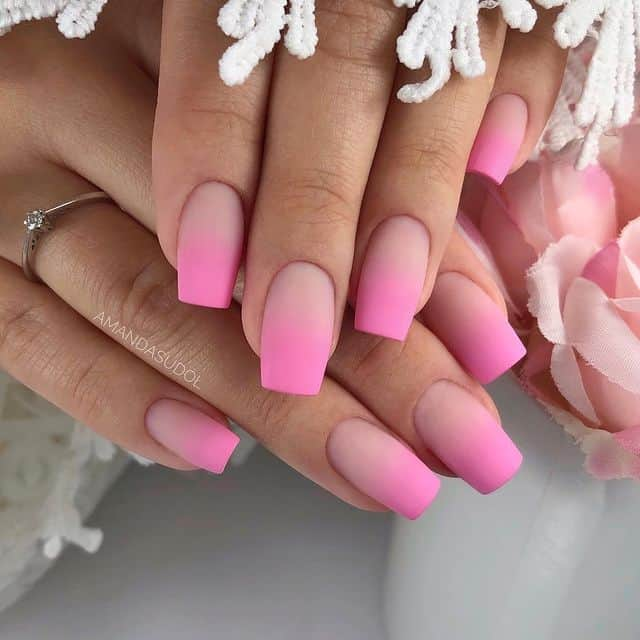 ombre nails, ombre nail ideas, ombre nails pink, ombre nails short, ombre nails coffin, ombre nail art, cute ombre nails, ombre nail color ideas, pink nail art, pink nails, pink nail ideas, matte nails, matte nail ideas