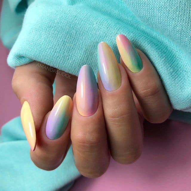 ombre nails, ombre nail ideas, ombre nails pink, ombre nails short, ombre nails coffin, ombre nail art, cute ombre nails, ombre nail color ideas, rainbow nails, colourful nails