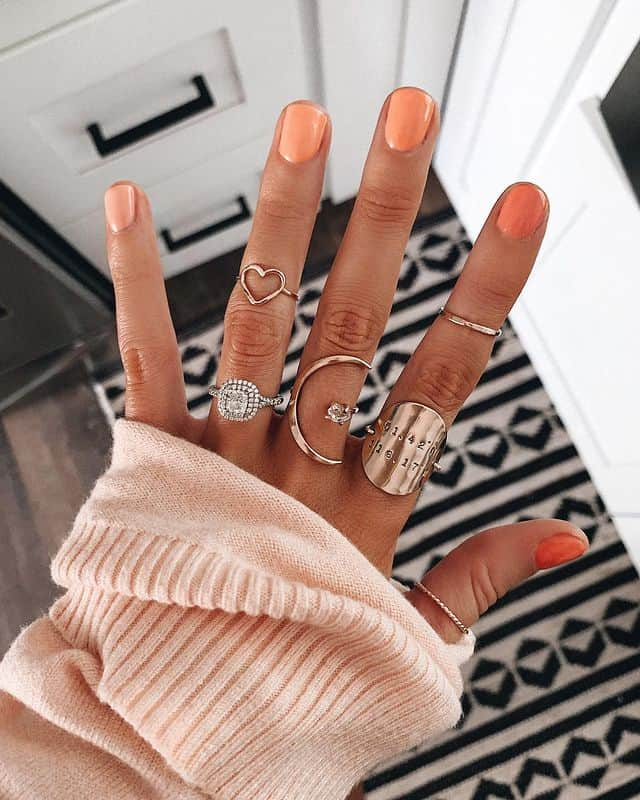 ombre nails, ombre nail ideas, ombre nails pink, ombre nails short, ombre nails coffin, ombre nail art, cute ombre nails, ombre nail color ideas, orange ombre nails, orange nails