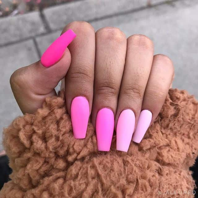 ombre nails, ombre nail ideas, ombre nails pink, ombre nails short, ombre nails coffin, ombre nail art, cute ombre nails, ombre nail color ideas, pink nail art, pink nails, pink nail ideas, matte nails, matte nail art