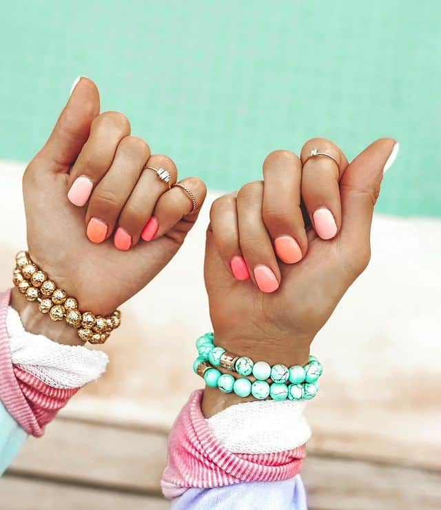 ombre nails, ombre nail ideas, ombre nails pink, ombre nails short, ombre nails coffin, ombre nail art, cute ombre nails, ombre nail color ideas, pink nail ideas, orange nails