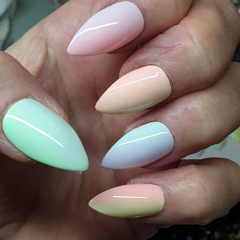 ombre nails, ombre nail ideas, ombre nails pink, ombre nails short, ombre nails coffin, ombre nail art, cute ombre nails, ombre nail color ideas, rainbow nails
