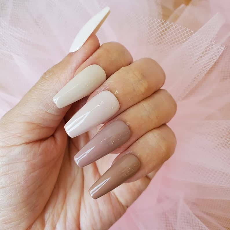 ombre nails, ombre nail ideas, ombre nails pink, ombre nails short, ombre nails coffin, ombre nail art, cute ombre nails, ombre nail color ideas, neutral nails, neutral nail ideas