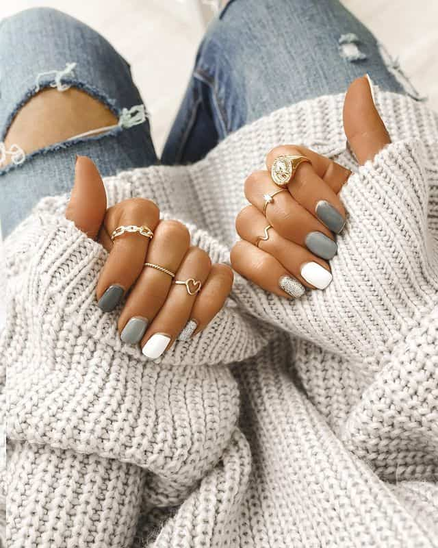 ombre nails, ombre nail ideas, ombre nails pink, ombre nails short, ombre nails coffin, ombre nail art, cute ombre nails, ombre nail color ideas, grey nails, grey nail art, grey ombre nails