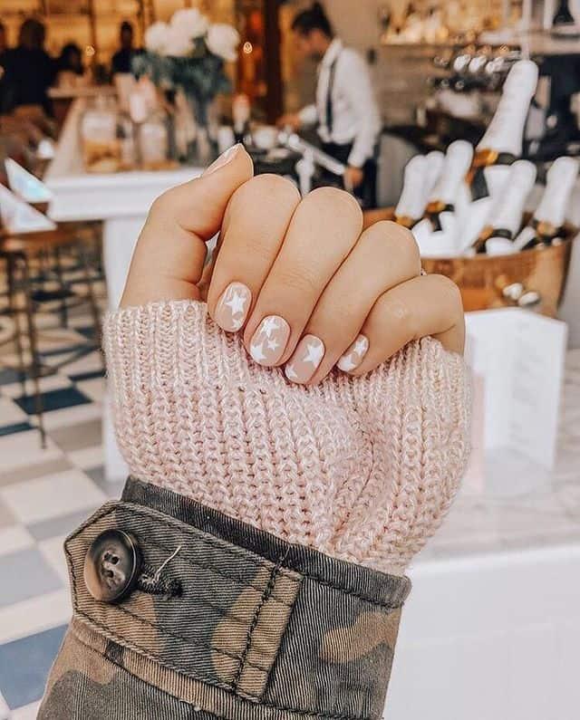 star nail designs, star nail art, star nails short, star nail ideas, star nails acrylic, star nail pink