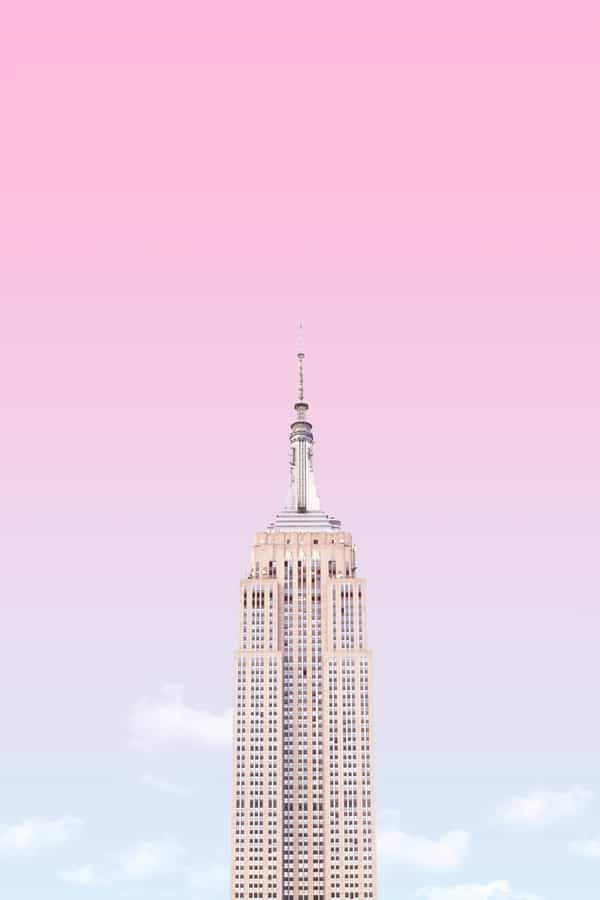 pink wallpaper, pink wallpaper iPhone, pink aesthetic, cute pink wallpaper, pink background, pink background iPhone, pink wallpaper girly, New York City wallpaper, New York aesthetic