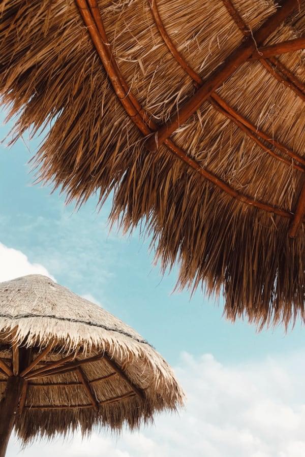 beach wallpaper, vacation wallpaper, pretty wallpaper, beach umbrella