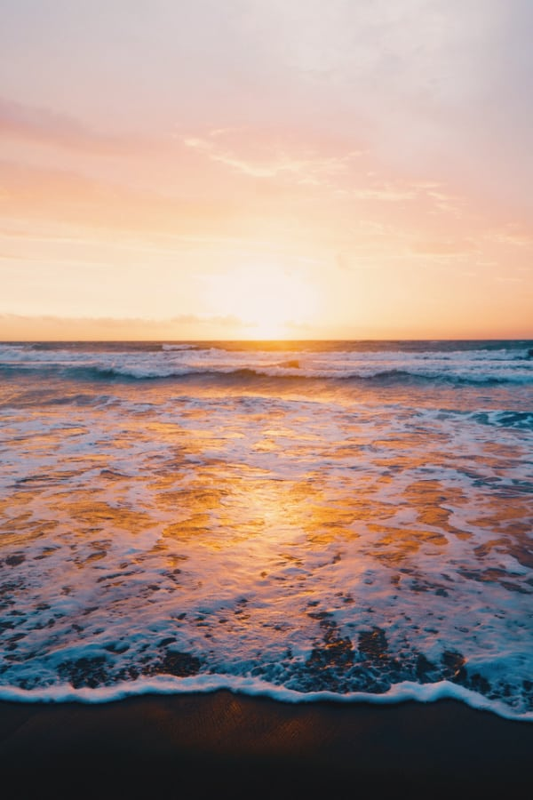 sunset wallpaper, beach aesthetic, beach wallpaper, ocean wallpaper, cute wallpaper