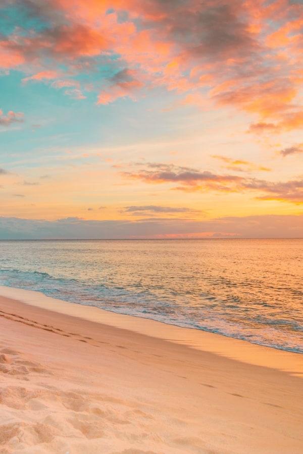 beach aesthetic, beach aesthetic wallpaper, pastel sky wallpaper, pink beach aesthetic, pastel aesthetic, rainbow aesthetic,