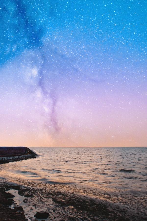 star wallpaper, galaxy wallpaper, star aesthetic, beach and stars, beach wallpaper, ocean wallpaper