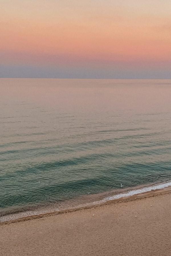 beach sunset, pastel sunset, beach wallpaper, pastel wallpaper, rainbow wallpaper, pretty wallpaper,